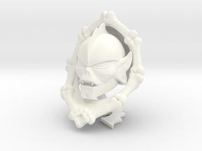 Horde Leader Sculpture in White Processed Versatile Plastic