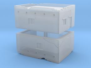 Desert House (x2) 1/700 in Smooth Fine Detail Plastic