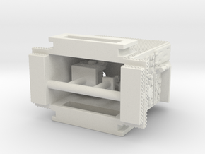 1/64 Singerly Seagrave Engine Pump in White Natural Versatile Plastic