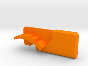 Warthog throttle part - Airbus Toliss in Orange Processed Versatile Plastic