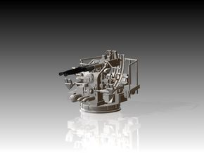 Twin Bofors Kit 1/75 in Smooth Fine Detail Plastic