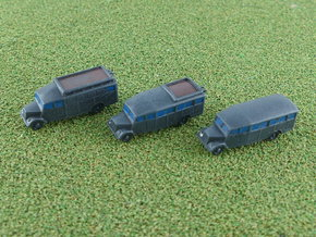 Opel Blitz Bus 1/285 6mm in Smooth Fine Detail Plastic