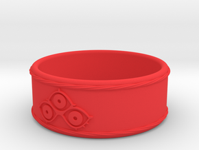 Shorter Ring of Jahad - Tower of God in Red Processed Versatile Plastic: 10 / 61.5
