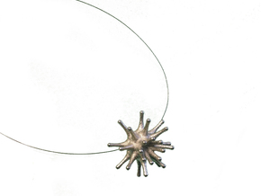 Urchin Transformer in Polished Nickel Steel