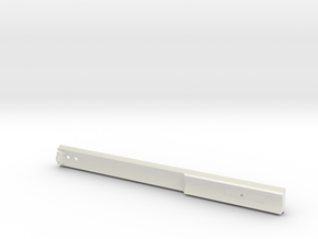 Action Army AAP-01 Top Full Rail in White Natural Versatile Plastic