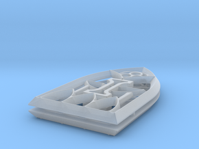 28mm Scale Gothic Window in Smooth Fine Detail Plastic