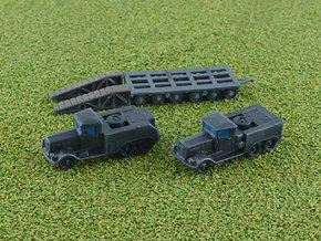 Kaeble Z6 Tractors & Culemeyer Trailer 1/285 in Smooth Fine Detail Plastic