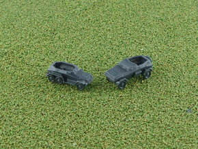 SdKfz 247A+B Set of 5 1/285 6mm in Smooth Fine Detail Plastic