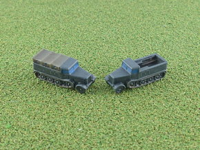SdKfz. 8 12to Prime Mover Variant 1/285 6mm in Smooth Fine Detail Plastic