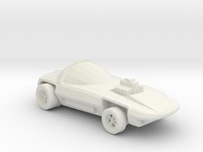 Silhouette 1:160 scale in White Natural Versatile Plastic