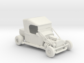 1927 T Hot Rod 1:160 scale in White Natural Versatile Plastic