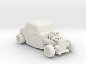 1932 coup Hot Rod 1:160 scale in White Natural Versatile Plastic