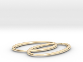 Soonets Jewelry Signature Pendant in 14K Yellow Gold