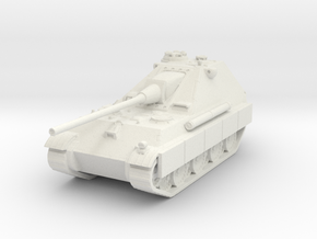 Jagdpanther II (side skirts) 1/87 in White Natural Versatile Plastic