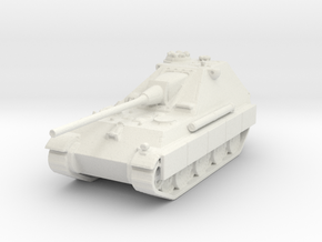 Jagdpanther II (side skirts) 1/144 in White Natural Versatile Plastic