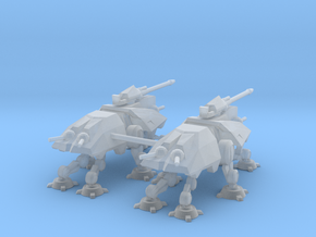 1.5 Inch AT-TE (2) in Smooth Fine Detail Plastic