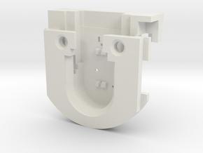 Northern Fire Box w/o draw bar v1 v6 in White Natural Versatile Plastic