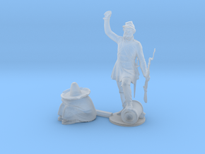 O Scale Soldier and Siesta in Smooth Fine Detail Plastic