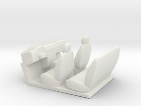 F450/F650 interior in White Natural Versatile Plastic