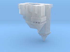 Medieval castle 1/700 in Smooth Fine Detail Plastic