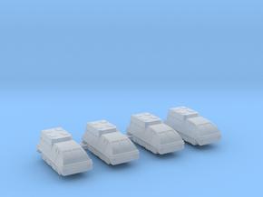 285 Scale Klingon Kral-P APVs MGL in Smooth Fine Detail Plastic
