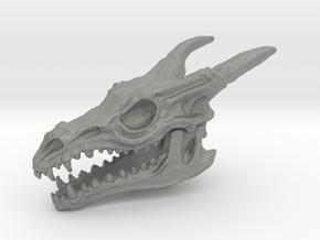 Dragon Skull in Gray PA12