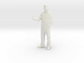 Architectural Man - 1:100 - Presenting  in White Natural Versatile Plastic