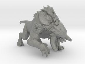 Demonling monster miniature model fantasy game rpg in Gray PA12