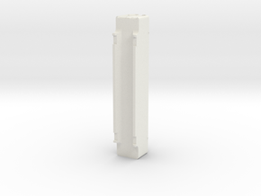 A-Stack Container SFCM 950001 in White Natural Versatile Plastic: 1:87 - HO