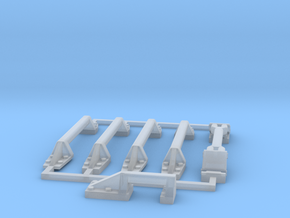 29-31-Handles-SW in Smooth Fine Detail Plastic