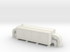 Air Handling Unit 1/48 in White Natural Versatile Plastic