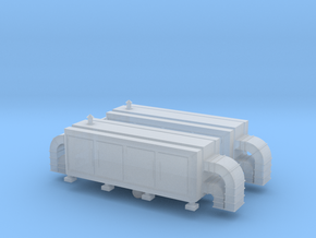Air Handling Unit (x2) 1/200 in Smooth Fine Detail Plastic