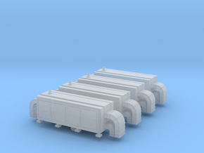 Air Handling Unit (x4) 1/220 in Smooth Fine Detail Plastic