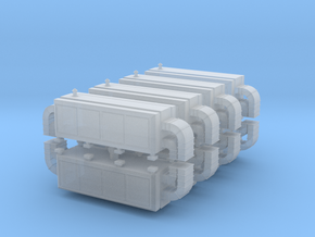 Air Handling Unit (x8) 1/350 in Smooth Fine Detail Plastic