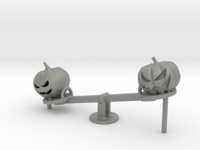 S Scale Seesaw Pumpkins in Gray PA12