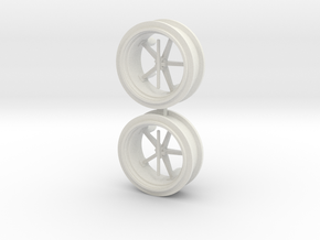 Deutz Zwillingsreifen in White Natural Versatile Plastic
