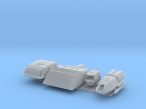 1/350 Movie Series Shuttle Variety Pack in Smooth Fine Detail Plastic