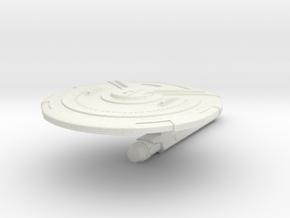 Solomon Class Destroyer v2 in White Natural Versatile Plastic