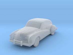 O Scale 1948 Buick Roadmaster in Smooth Fine Detail Plastic