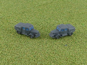 German Faun ZR Tractor 1/285 6mm in Smooth Fine Detail Plastic