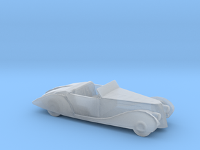 S Scale 1939 Delahaye in Smooth Fine Detail Plastic