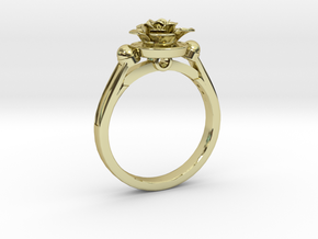 Flower Ring 45 in 18K Yellow Gold