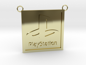 Playstation (Contact to Add Stones) in 18K Yellow Gold