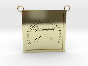 Paramount Pictures (Pendant) in 18K Yellow Gold