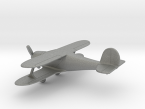 Beechcraft G-17 Staggerwing in Gray PA12: 1:160 - N