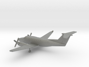 Beechcraft Super King Air 350 in Gray PA12: 1:200