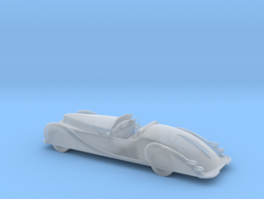 O Scale 1949 Delahaye in Smooth Fine Detail Plastic