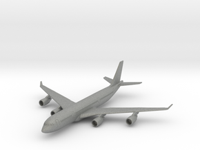 A340-500 w/Gear (PA12) in Gray PA12: 1:700