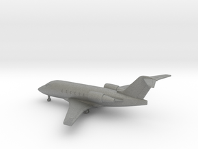 Bombardier Challenger 604 in Gray PA12: 6mm