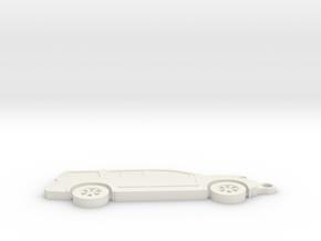 Nissan Armada WA60 Keychain (2004 - 2015) in White Natural Versatile Plastic